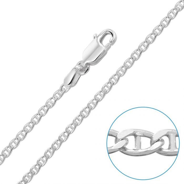 Children's Sterling Silver 2mm Marina Chain 16