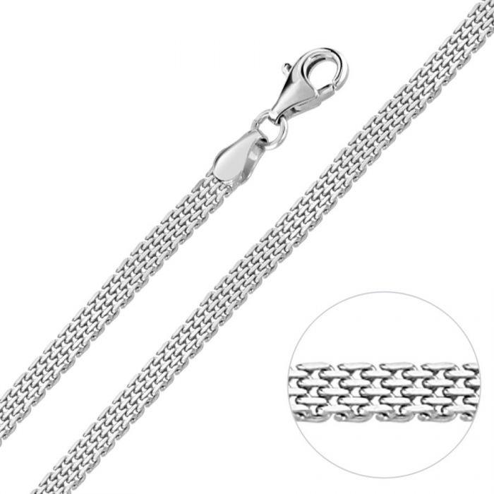 Sterling Silver 3.9mm Mesh Bracelet