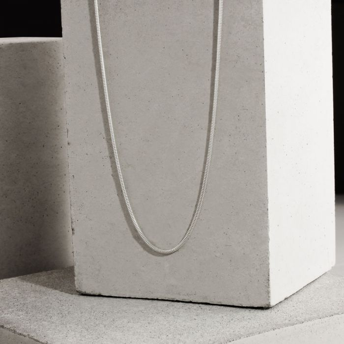 Sterling Silver 1.4mm Snake Chain Necklace