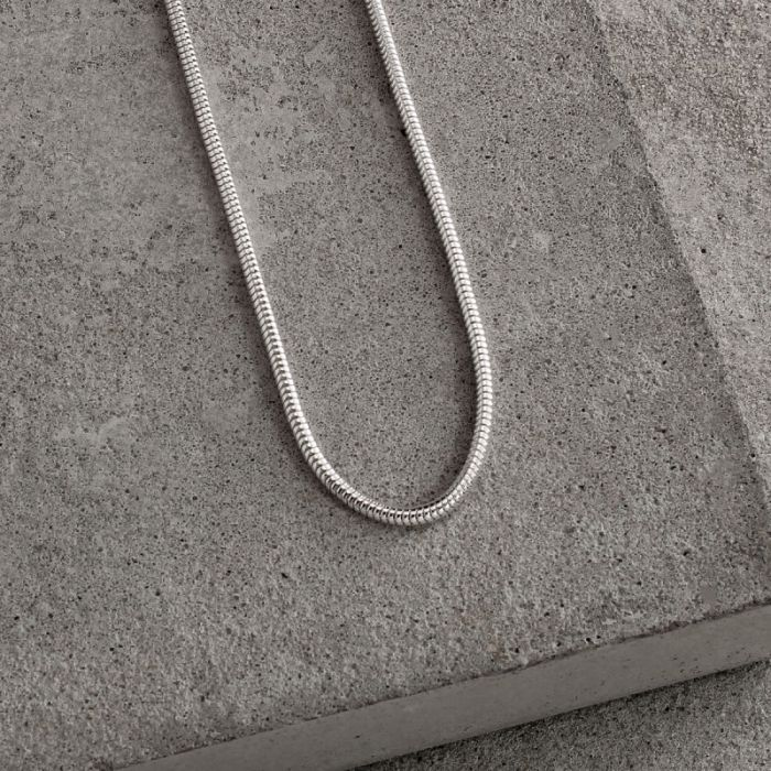 Sterling Silver 1.9mm Snake Chain Necklace