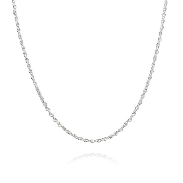 Children's Sterling Silver 1.5mm Prince Of Wales Chain 14