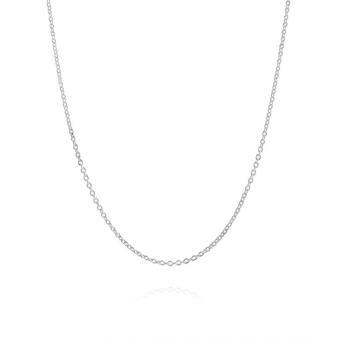 Sterling Silver 1.2mm Cable Trace Chain Necklace