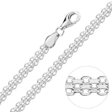 1ed4383f741bc Silver Chains, Sterling Silver Chain Online For Men, Women & Kids ...