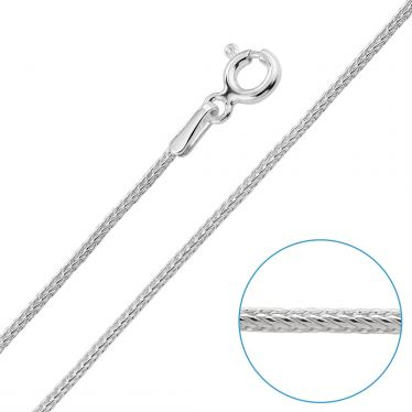 Children's Sterling Silver 1.1mm Foxtail Chain 16