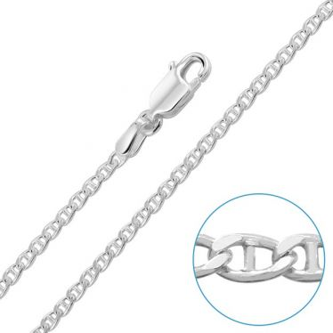 Children's Sterling Silver 2mm Marina Chain 16