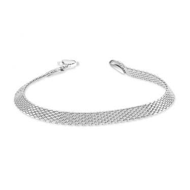 Sterling Silver 5mm Mesh Bracelet