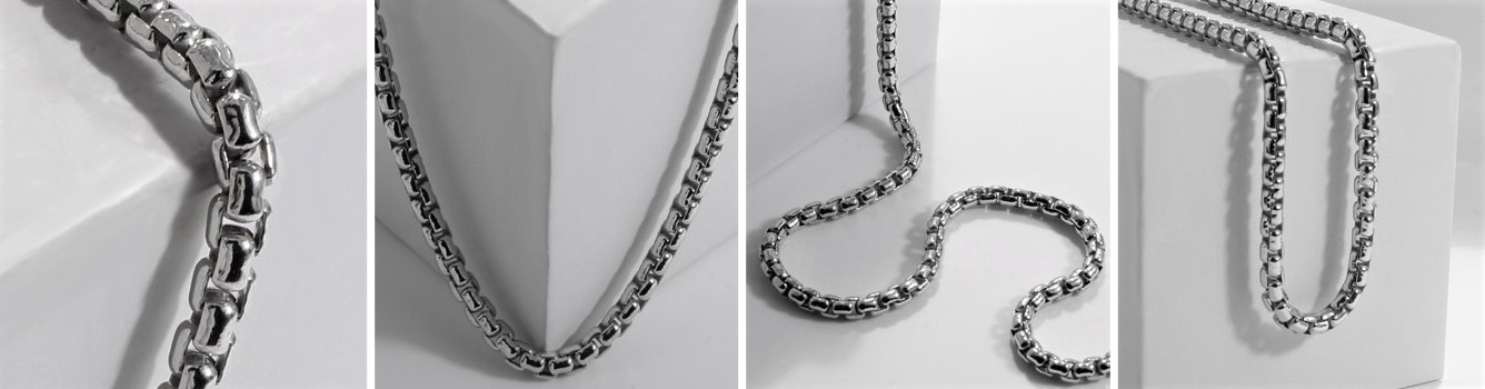 Rounded Box Chain Link