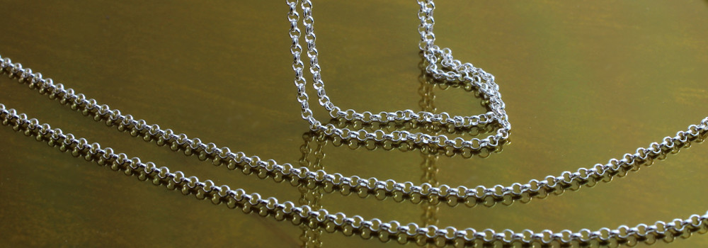 Sterling Silver fine Belcher Chains © 2018 Copyright