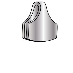Curved End Cap Angle View