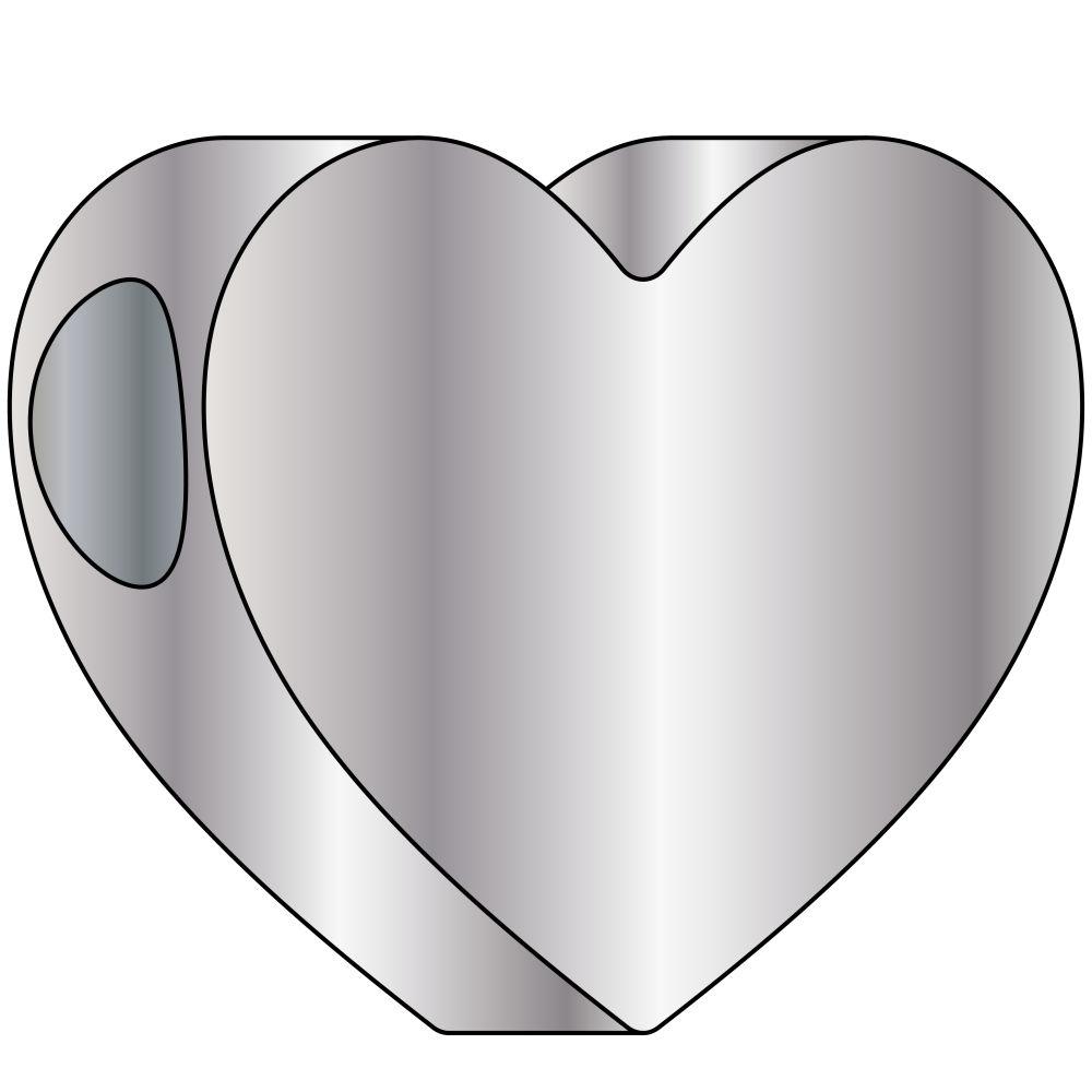 Heart Pendant Angle