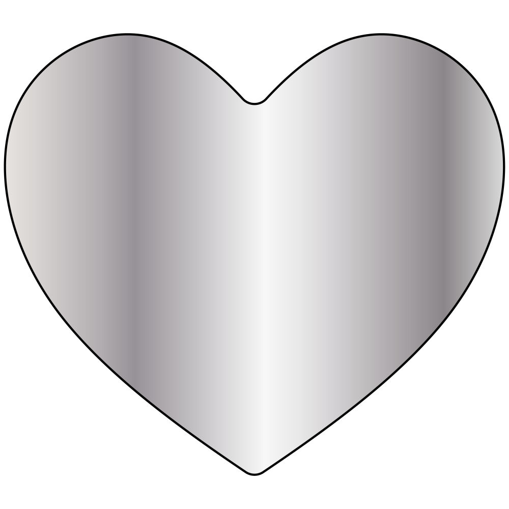 Heart Pendant Front View