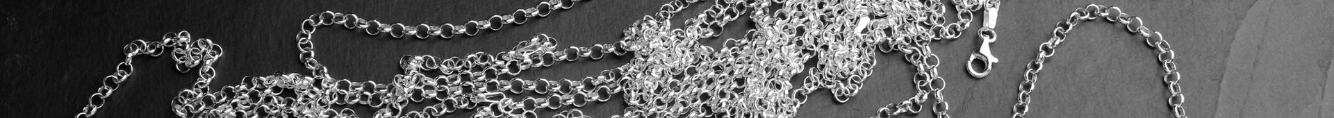 Men's Sterling Silver Belcher Chains