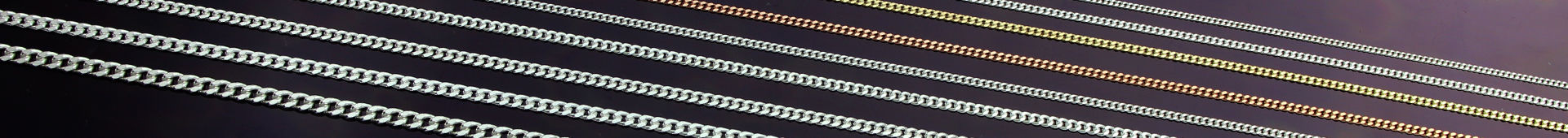 Women's Sterling Silver Curb Chain Necklaces