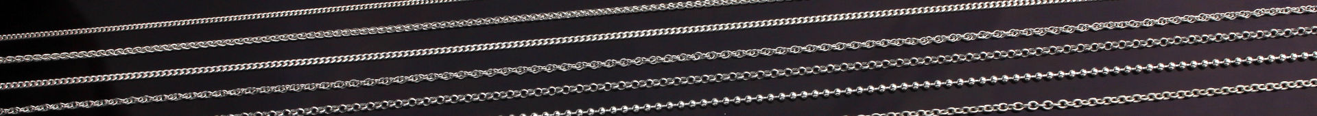 Fine Sterling Silver Pendant Chains