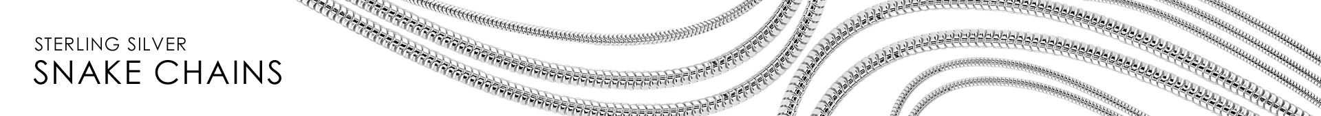 Sterling Silver Real Snake Chain