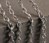 Sterling Silver Trace Chain Necklaces